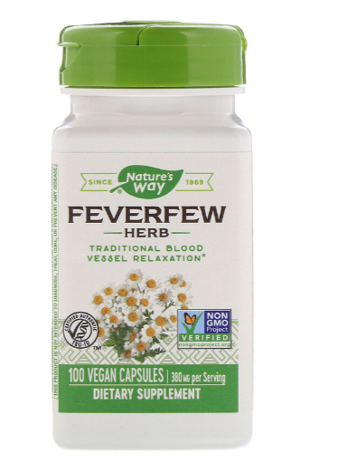 Nature's Way Fever Few 100Ct