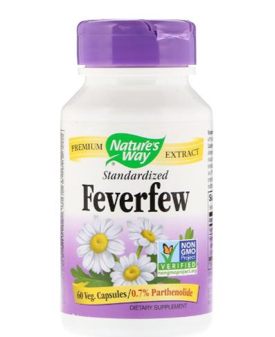 Nature's Way feverfew extract std