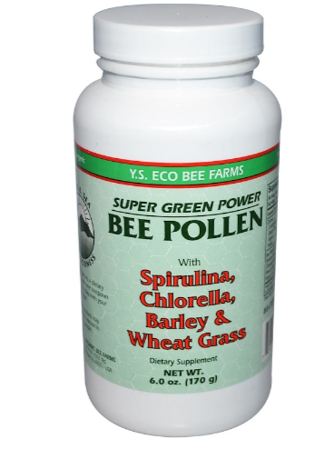 Y.S Bee Farms Bee Pollen with Greens 6 Ounce