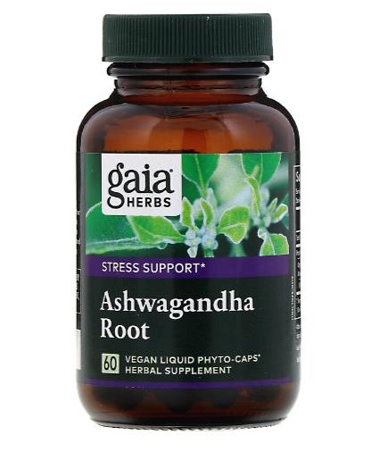Gaia Ashwagandha Root 60 Caps