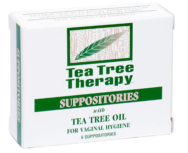 Tea Tree Therapy Suppositories For Vaginal Hygiene