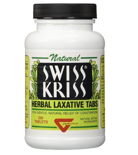 Swiss Kriss Herbal Laxative 250 tab