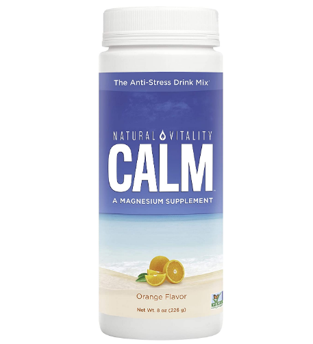 Natural Vitality Natural Calm, Orange 8oz
