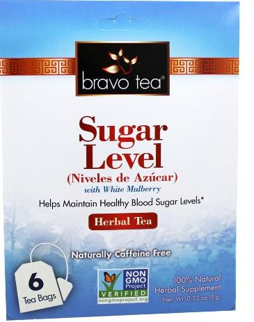 Bravo Tea Sugar Level 6 Tea Bags