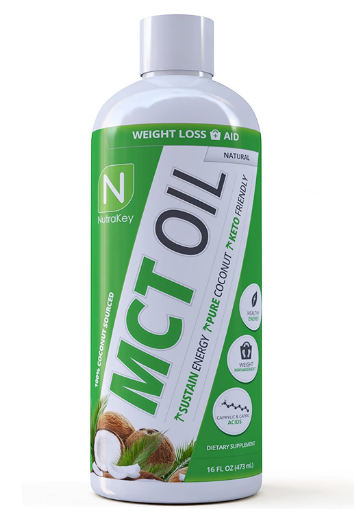 Nutrakey MCT Oil Natural 16 FL