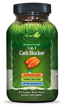 Irwin Naturals  3-1  Carb Blocker