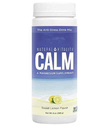 Natural Vitality Natural Calm, Sweet Lemon 8oz
