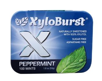 Xyloburst Peppermint Mint Tin
