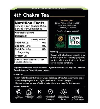 Buddha Teas, 4th Chakra Tea