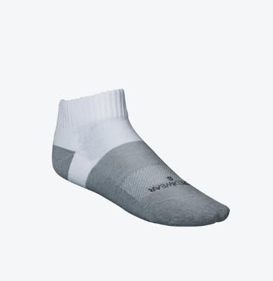 Incrediwear Active Socks Low Cut White -X L
