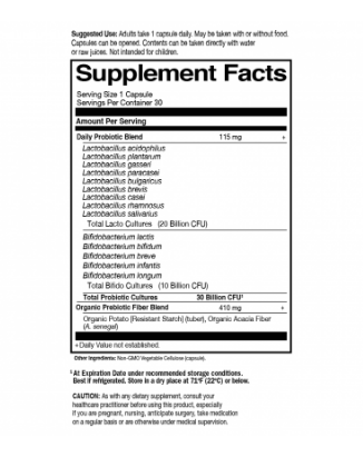 Garden of Life Dr. Formulated Daily 30 Billion 30 Capsules