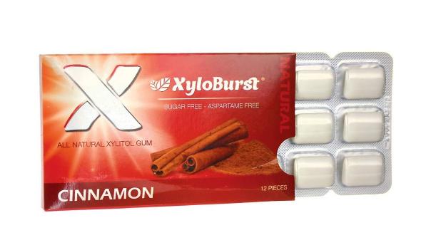 Xyloburst Cinnamon Gum 12 Piece