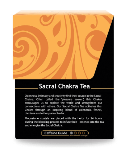 Buddha Teas, Sacral Chakra Tea