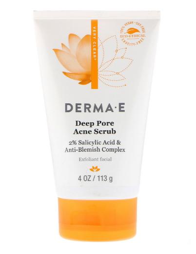 Derma E Cleanser Pore Scrub Acne