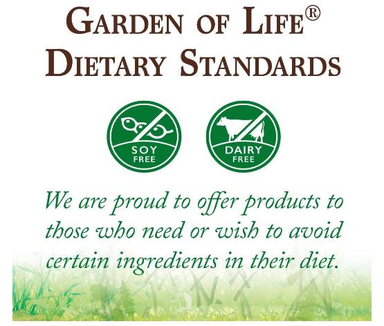 Garden of Life Raw Protein & Greens Powder, Vanilla 19.3oz