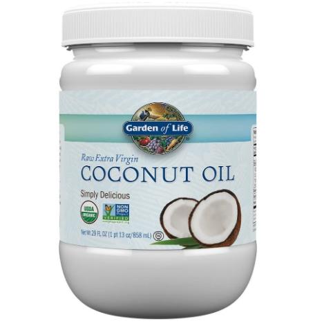 Garden of Life Raw Extra Virgin Coconut Oil 29oz