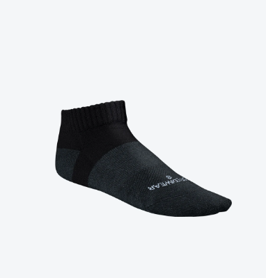 Incrediwear Active Socks Low Cut Black - L