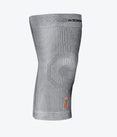 Incrediwear Knee Sleeve Grey Medium