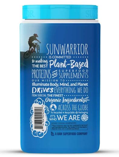 Sunwarrior Warrior Blend Organic Plant-Based Protein Chocolate 1.65lb