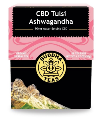 Buddha Teas Ashwagandha CBD Tea