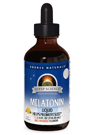 Source Naturals Melatonin Liquid 4oz