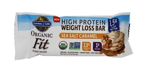 Garden of Life Fit Protein Bar Sea Salt