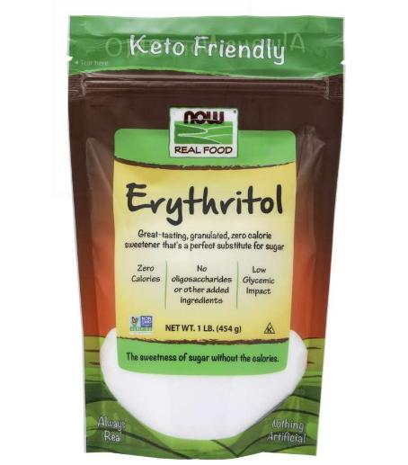 Now Erythritol 1LB