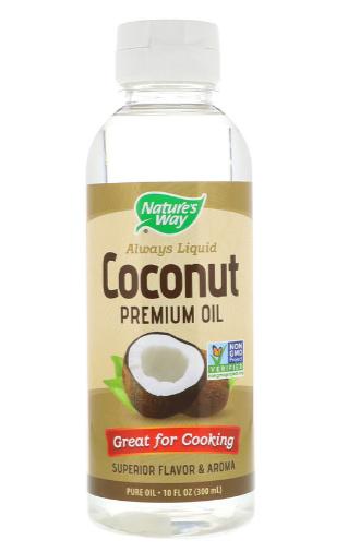 Nature's Way Liquid Coconut Oil 10 oz