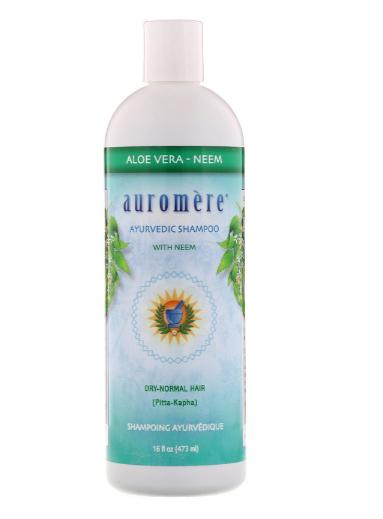 Auromere Aloe Vera Neem Shampoo 16oz
