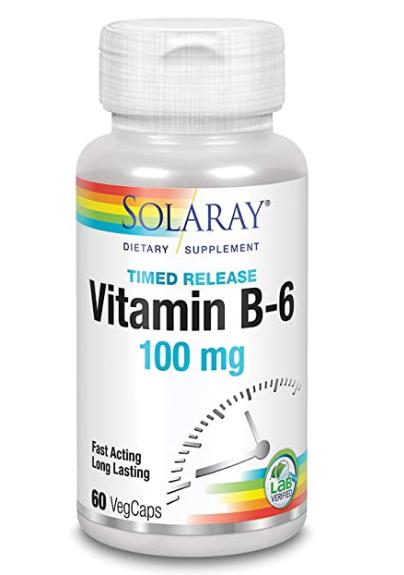 Solaray Vitamin B6