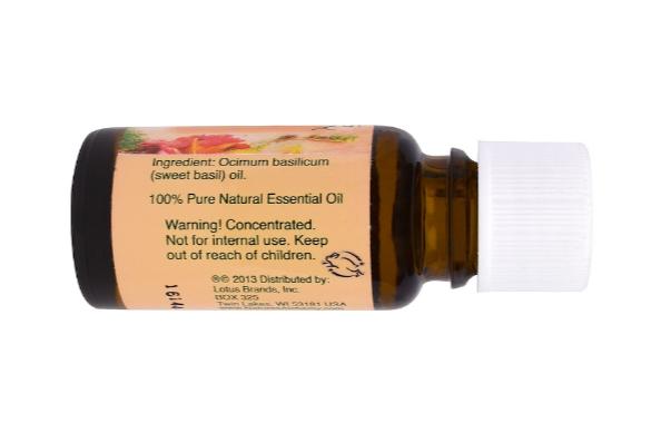 Nature's Alchemy Essential Oil, Basil 0.5oz