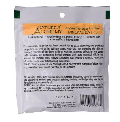 Nature's Alchemy Bath Salt Single Fem Comfort