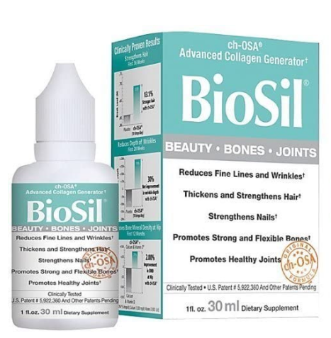 Natural Factors Biosil 1oz 30ml