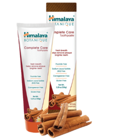 Himalaya cinnamon toothpaste
