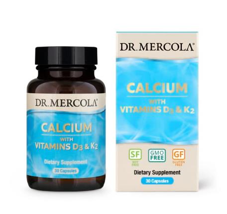 Dr. Mercola Calcium D3/K2 30 Capsules
