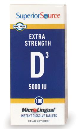 Extra Strength Vit D3 sublingual