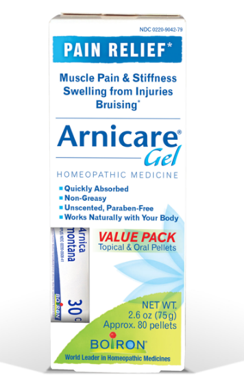 Boiron Arnicare Pain Relief Gel Value Pack 2.6oz