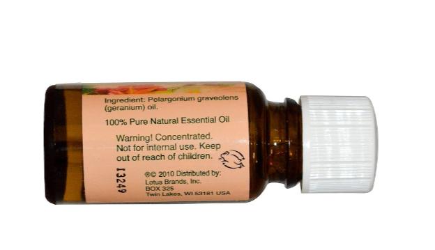 Nature's Alchemy Essential Oil, Geranium 0.5oz