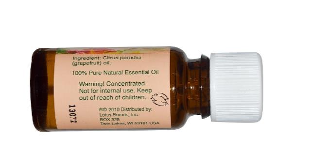 Nature's Alchemy Essential Oil, Grapefruit  0.5oz