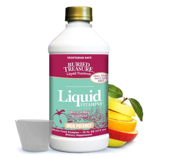 Buried Treasure Liquid Vitamins Hi-Potency 16oz