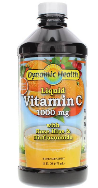 Dynamic Health Liquid Vitamin C 1000mg 16oz