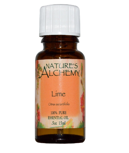 Nature's Alchemy Essential Oil, Lime 0.5oz