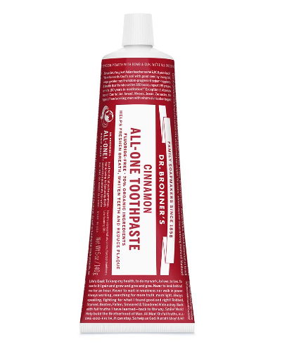 Dr. Bronner's All-One Toothpaste, Cinnamon