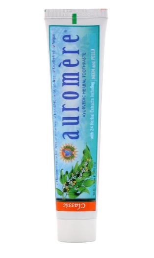 Auromere Ayurvedic Herbal Toothpase, Classic 4.16oz
