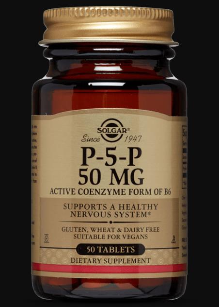 Solgar P-5-P 50 mg