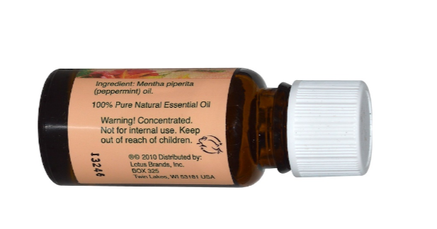 Nature's Alchemy Essential Oil Peppermint 0.5oz