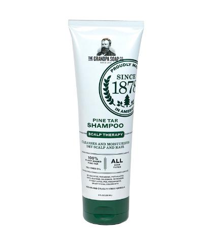 Grandpa's Soap Company Wonder Pine Tar Shampoo 8 Ounce