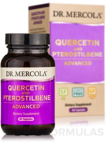 Dr. Mercola quercetin and Pterostilbene 60 capsules