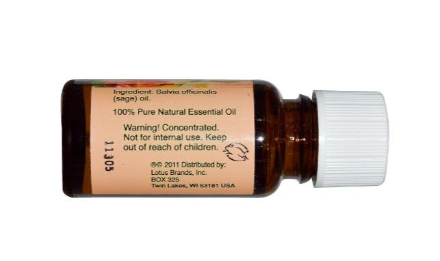 Nature's Alchemy Essential Oil Sage 0.5 oz