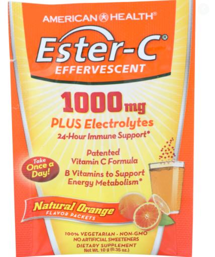 American Health Ester-C 1000 mg Natural Orange 0.35 oz